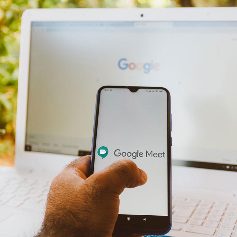 LBC will meet with your team virtually via Google Meet