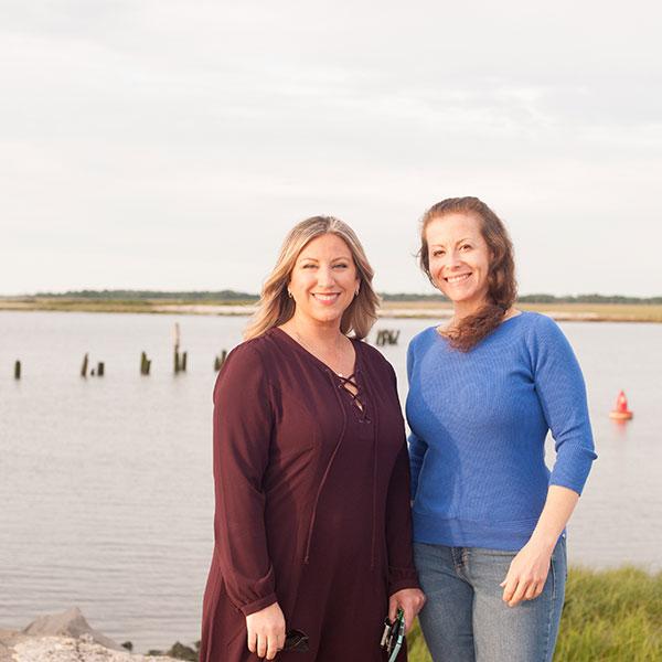 Lauren and Phaedra cover NJ as PR consultants
